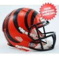 Helmets, Mini Helmets: Cincinnati Bengals NFL Mini Speed Football Helmet