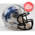 Helmets, Mini Helmets: Detroit Lions NFL Mini Speed Football Helmet