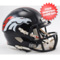 Helmets, Mini Helmets: Denver Broncos NFL Mini Speed Football Helmet