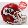 Helmets, Mini Helmets: Kansas City Chiefs NFL Mini Speed Football Helmet