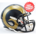 Helmets, Mini Helmets: St. Louis Rams NFL Mini Speed Football Helmet