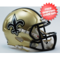Helmets, Mini Helmets: New Orleans Saints NFL Mini Speed Football Helmet