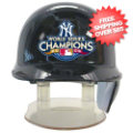 Helmets, Mini Helmets: New York Yankees MLB Mini Batters Helmet Champs 2009