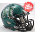 Helmets, Mini Helmets: Hawaii Warriors NCAA Mini Speed Football Helmet