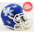 Helmets, Mini Helmets: Kentucky Wildcats NCAA Mini Speed Football Helmet