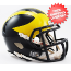 Michigan Wolverines NCAA Mini Speed Football Helmet