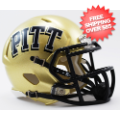 Helmets, Mini Helmets: Pittsburgh Panthers NCAA Mini Speed Football Helmet