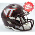 Helmets, Mini Helmets: Virginia Tech Hokies NCAA Mini Speed Football Helmet