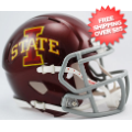Helmets, Mini Helmets: Iowa State Cyclones NCAA Mini Speed Football Helmet