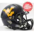 Helmets, Mini Helmets: West Virginia Mountaineers NCAA Mini Speed Football Helmet