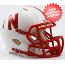 Nebraska Cornhuskers NCAA Mini Speed Football Helmet
