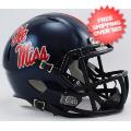 Helmets, Mini Helmets: Mississippi (Ole Miss) Rebels NCAA Mini Speed Football Helmet