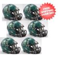 Helmets, Mini Helmets: Hawaii Warriors NCAA Mini Speed Football Helmet 6 count