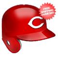 Helmets, Full Size Helmet: Cincinnati Reds Batting Helmet Rawlings Official