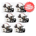 Helmets, Mini Helmets: South Carolina Gamecocks NCAA Mini Speed Football Helmet 6 count