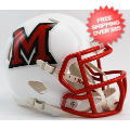 Helmets, Mini Helmets: Miami of Ohio Redhawks NCAA Mini Speed Football Helmet