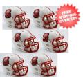 Helmets, Mini Helmets: North Carolina State Wolfpack NCAA Mini Speed Football Helmet 6 count