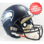 Seattle Seahawks Full Size Replica Football Helmet  <B>Matte Navy</B>
