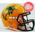 Helmets, Mini Helmets: North Dakota State Bison NCAA Mini Speed Football Helmet