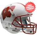 Helmets, Full Size Helmet: Wisconsin Badgers Full XP Replica Football Helmet Schutt