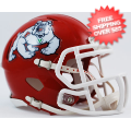 Helmets, Mini Helmets: Fresno State Bulldogs NCAA Mini Speed Football Helmet