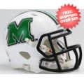 Helmets, Mini Helmets: Marshall Thundering Herd NCAA Mini Speed Football Helmet