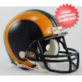 Helmets, Mini Helmets: St. Louis Rams 1981 to 1999 Riddell Mini Replica Throwback Helmet
