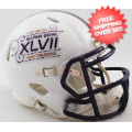 Helmets, Mini Helmets: Super Bowl 47 XLVII Mini Speed Football Helmet