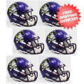 Helmets, Mini Helmets: East Carolina Pirates NCAA Mini Speed Football Helmet 6 count