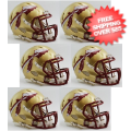 Helmets, Mini Helmets: Florida State Seminoles NCAA Mini Speed Football Helmet 6 count