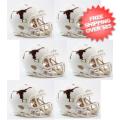 Helmets, Mini Helmets: Texas Longhorns NCAA Mini Speed Football Helmet 6 count