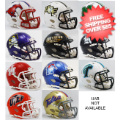Helmets, Mini Helmets: Conference USA Mini Speed Football Helmet Conference Riddell NCAA Helmets