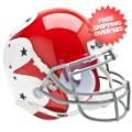 Helmets, Mini Helmets: Air Force Falcons Mini XP Authentic Helmet Schutt <B>Stars</B>