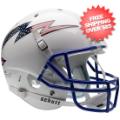 Helmets, Full Size Helmet: Air Force Falcons Full XP Replica Football Helmet Schutt <B>Flag Bolt</B>