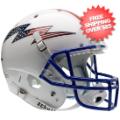 Helmets, Full Size Helmet: Air Force Falcons Full XP Replica Football Helmet Schutt <B>Flag Bolt with ...