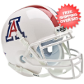 Helmets, Mini Helmets: Arizona Wildcats Mini XP Authentic Helmet Schutt <B>White</B>
