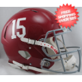 Helmets, Full Size Helmet: Alabama Crimson Tide Speed Football Helmet #15