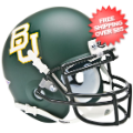 Helmets, Mini Helmets: Baylor Bears Mini XP Authentic Helmet Schutt <B>Matte Green</B>