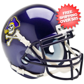 East Carolina Pirates Authentic College Football Helmet Schutt