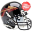 Florida State Seminoles Mini XP Authentic Helmet Schutt <B>Black</B>