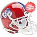 Helmets, Mini Helmets: Fresno State Bulldogs Mini XP Authentic Helmet Schutt