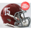 Helmets, Mini Helmets: Alabama Crimson Tide NCAA Mini Speed Football Helmet #15