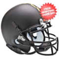 Helmets, Mini Helmets: Maryland Terrapins Mini Authentic Helmet Schutt <B>Black</B>
