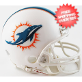 Helmets, Mini Helmets: Miami Dolphins NFL Mini Football Helmet <B>New 2013</B>
