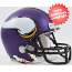 Minnesota Vikings NFL Mini Football Helmet <B>New 2013 Matte Purple</B>