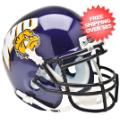 Helmets, Mini Helmets: Western Illinois Leathernecks Mini XP Authentic Helmet Schutt