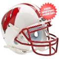Helmets, Mini Helmets: Wisconsin Badgers Mini XP Authentic Helmet Schutt
