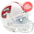 Helmets, Mini Helmets: Western Kentucky Hilltoppers Mini XP Authentic Helmet Schutt