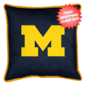 Home Accessories, Bed and Bath: Michigan Wolverines Toss Pillow Sideline