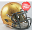 Notre Dame Fighting Irish NCAA Mini Speed Football Helmet <B>HydroSkin</B>